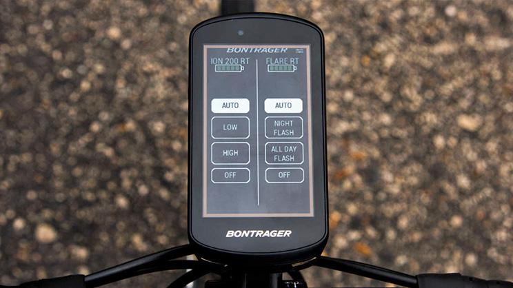 Bontrager Garmin Edge 1030 GPS bateria luz
