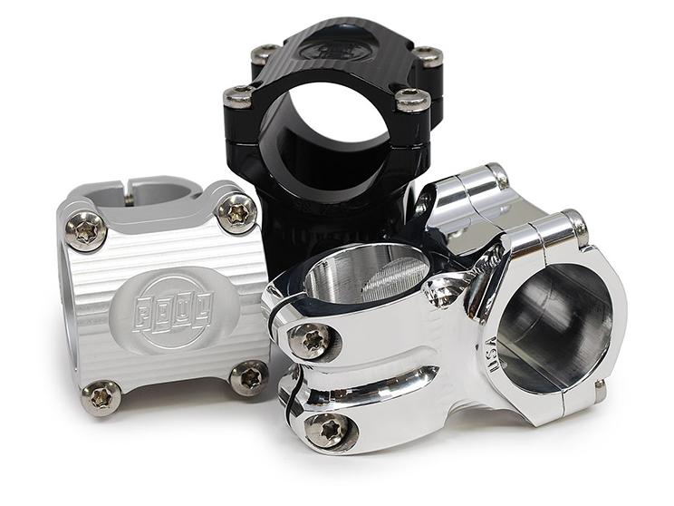 Paul Component potencia 35x35 negro plata pulido