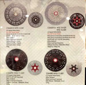 SunRace MZ 12 velocidades cassettes