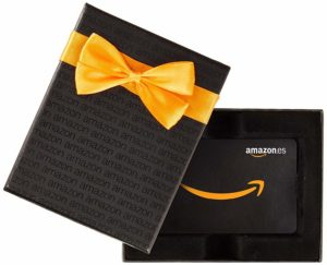 Cheque regalo Amazon con estuche