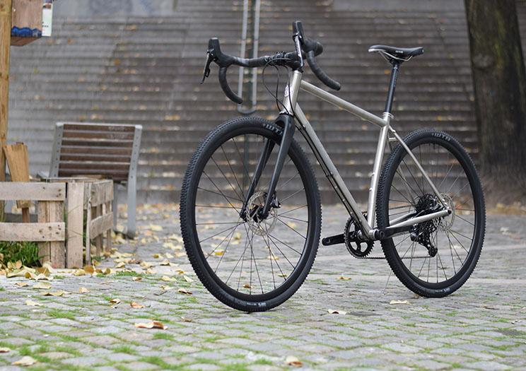 Nordest Albarda Ti Bicicleta Completa Guiado Cables