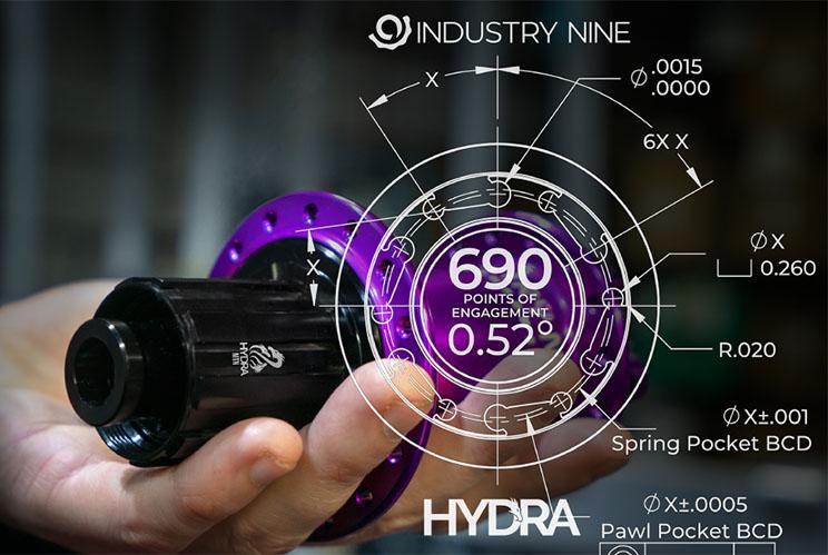 Industry Nine Hydra 690 POE