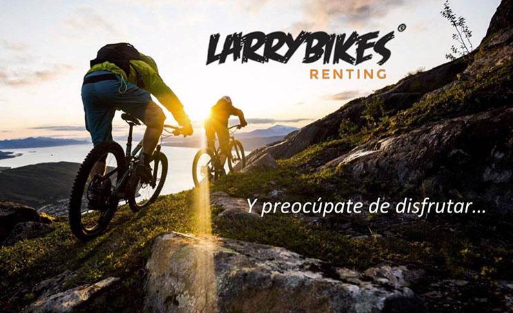 Larry Bikes Renting preocúpate de disfrutar