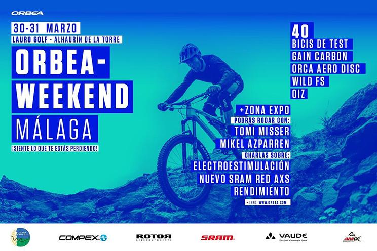 Orbea Weekend Malaga 30 31 Marzo