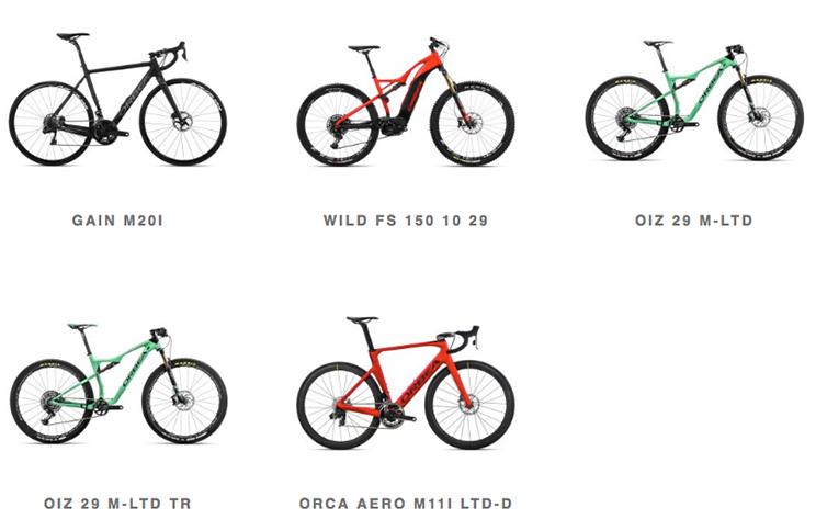 Orbea Weekend Malaga test bicicletas disponibles