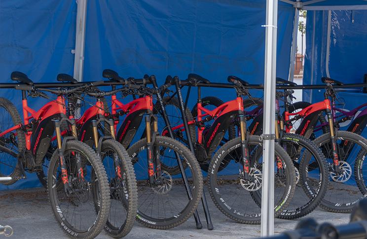 Orbea Weekend Málaga bicicletas test Wild FS