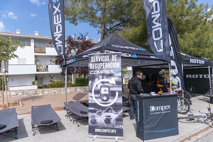 Orbea Weekend Málaga stand Compex