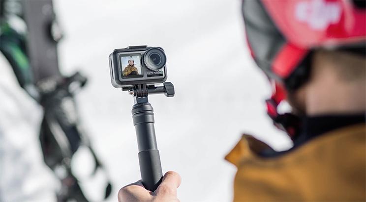 DJI Osmo Action selfie