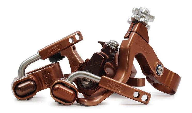 Paul Component & SimWorks anodizado marrón